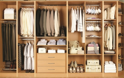 You get more space with a built-in wardrobe