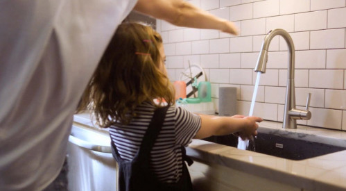 HANDS-FREE tap
